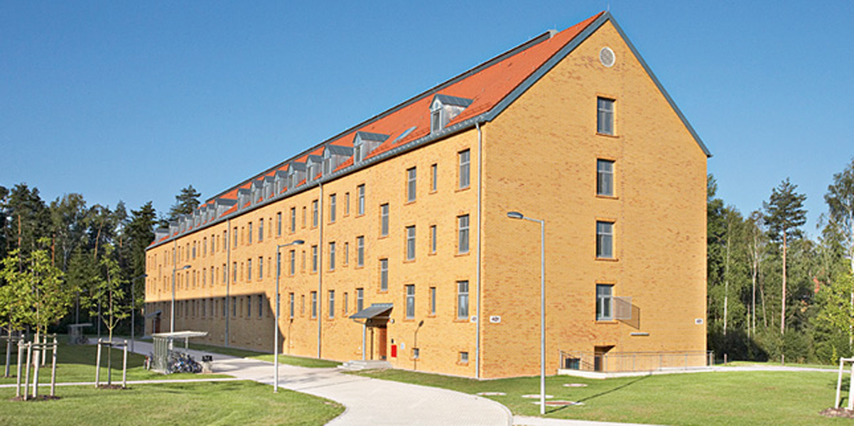 New Barracks Phase II, Building 401, 402<br>Grafenwöhr