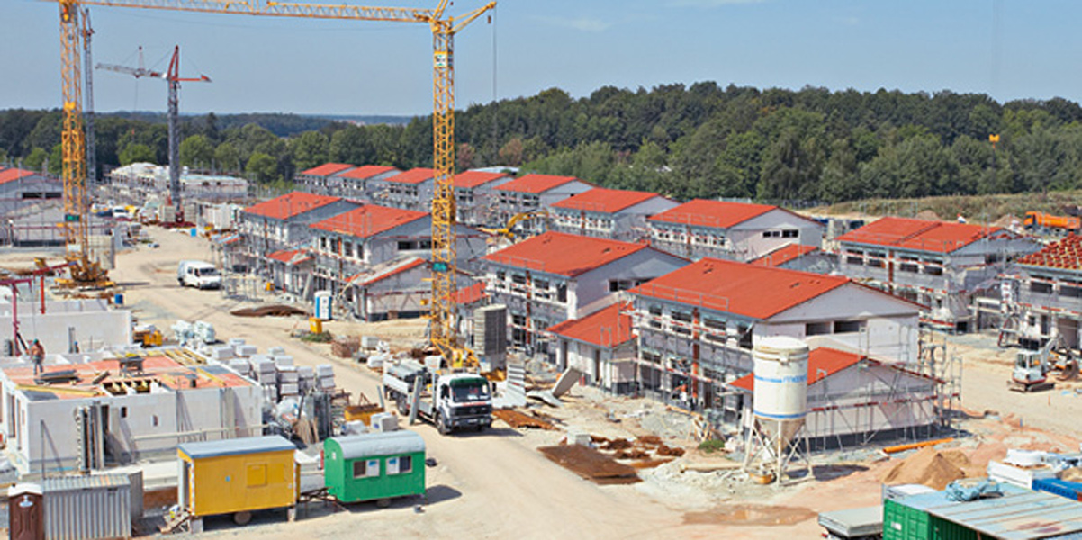 New Townhouses, Urlas Training Area<br>Ansbach
