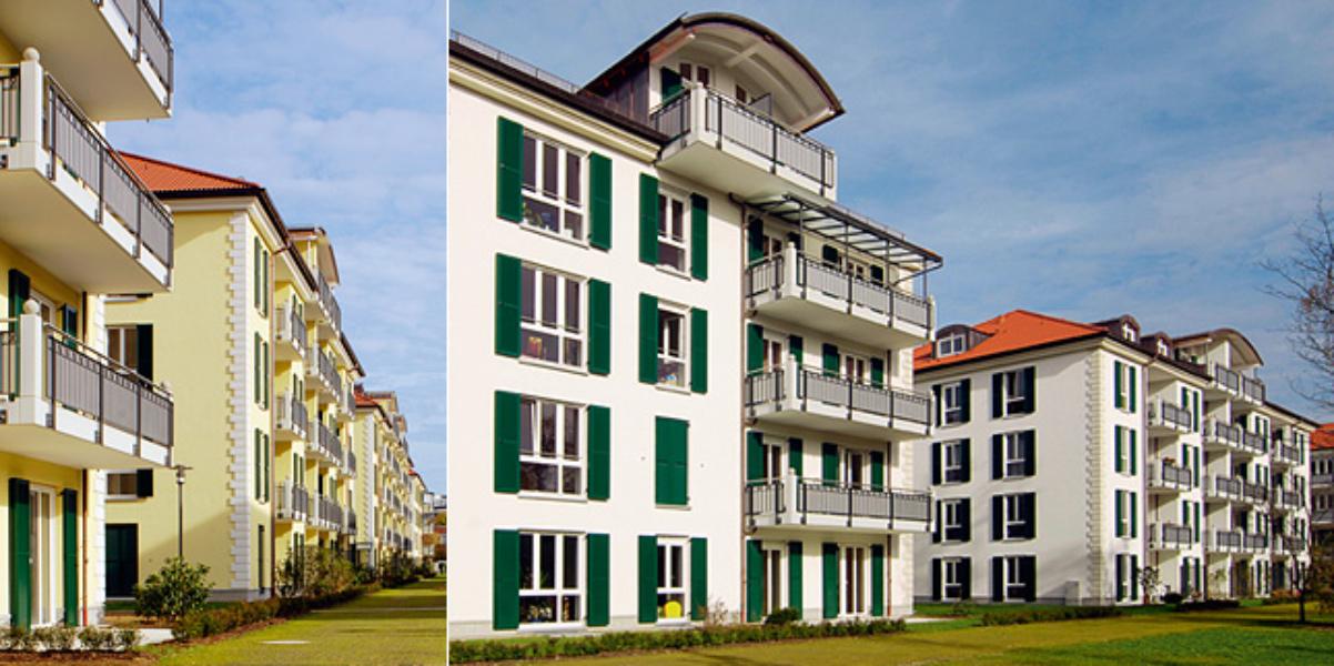 Wohnanlage »In den Kirschen«<br>München-Nymphenburg